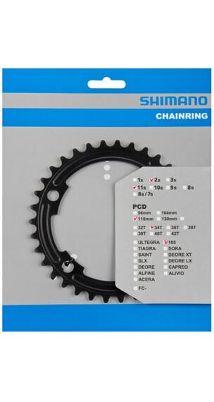 Shimano 105 FC-5800 Klinger MA 110 mm sort
